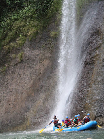 White Water Rafting Costa Rica at Pacuare River